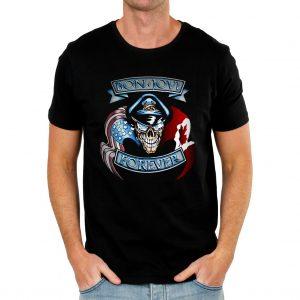 Bon Jovi Forever crest shirt