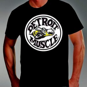 detroit muscle mens yellow